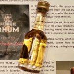 Rum Review: La Confrérie du Rhum Cuvée nº1 Barbados 2000